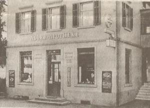 Adler Apotheke bis 1951